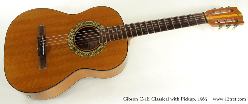 Gibson C-1E Classical 1965 full front view