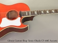 Gibson Custom Shop Tamio Okuda CF-100E Acoustic Electric Full Front View