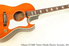 Gibson CF100E Tamio Okuda Electric Acoustic, 2014 Full Front View
