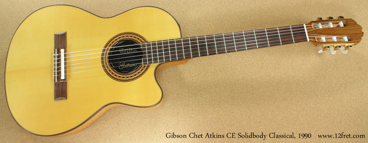 Gibson Chet Atkins CE Solidbody Classical 1990 full front view