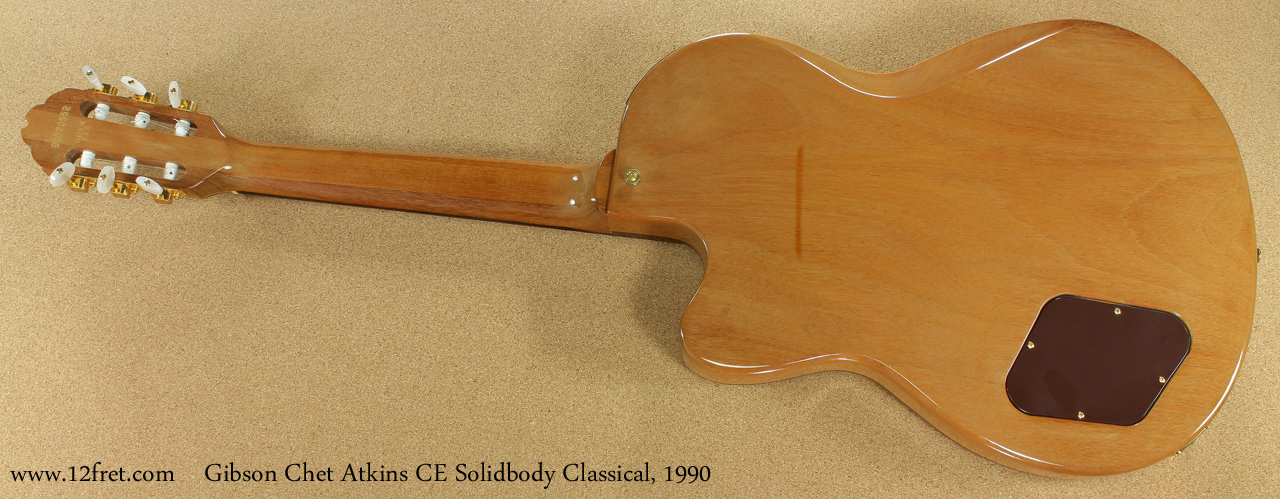 Gibson Chet Atkins CE Solidbody Classical 1990 full rear view