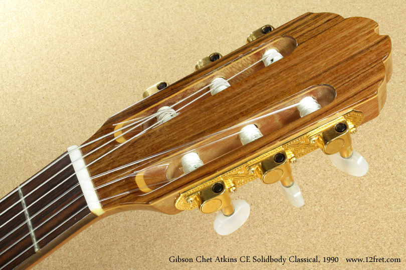 Gibson Chet Atkins CE Solidbody Classical 1990 head front