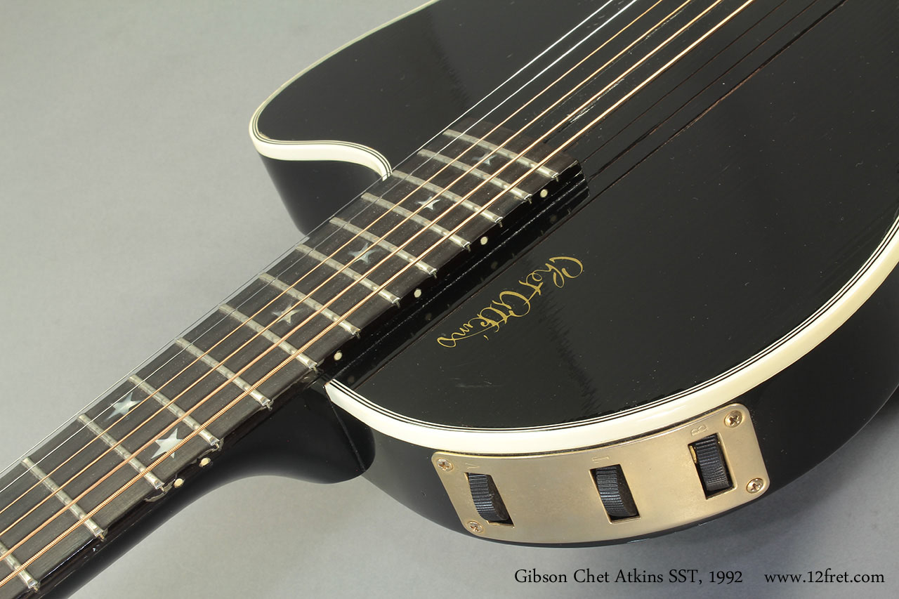 Gibson chet atkins celebrity guitar by ovation