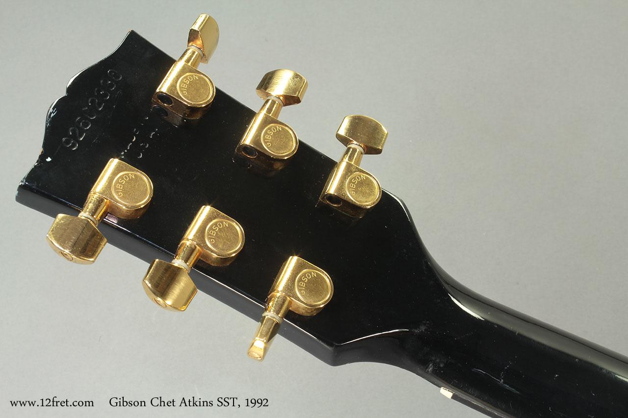 Gibson Chet Atkins SST 1992 head rear