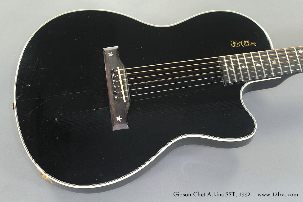 Gibson Chet Atkins SST 1992 top