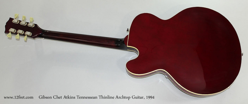 Gibson Chet Atkins Tennessean Thinline Archtop Guitar, 1994 Full Rear View