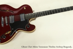 Gibson Chet Atkins Tennessean Thinline Archtop Burgundy, 1997 Full Front View