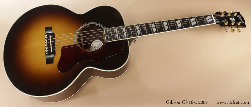 Gibson CJ-165 2007 full front view