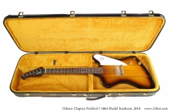 Gibson Clapton Firebird I 1964 Model Sunburst, 2019 Case Open View