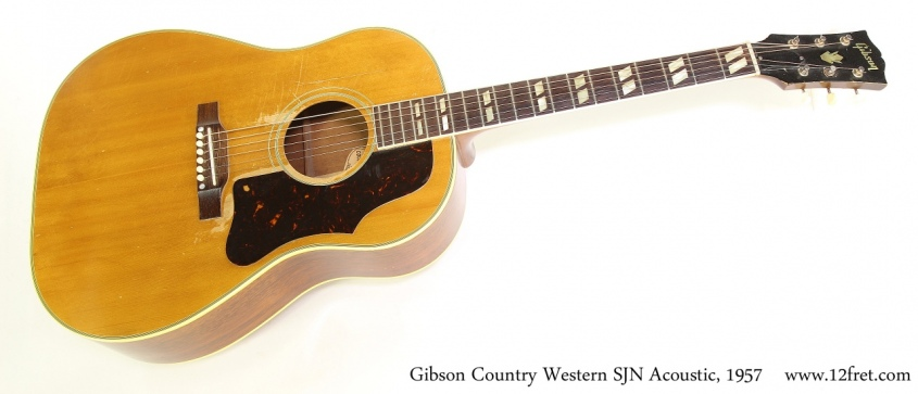 Gibson Country Western SJN Acoustic, 1957  Full Front View