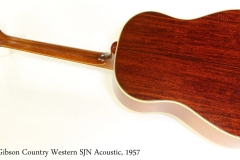 Gibson Country Western SJN Acoustic, 1957  Full Rear View