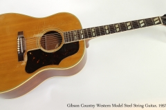 Gibson Country Western Model Steel String Guitar, 1957 Full Front View