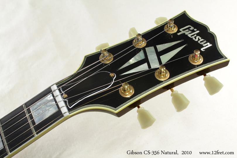 Gibson CS-356 Natural 2010 head front