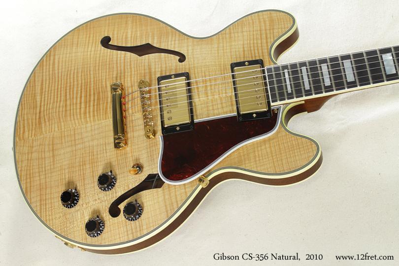 Gibson CS-356 Natural 2010 top