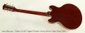 Gibson CS-336 F Figured Thinline Archtop Electric Guitar Cherry, 2004 Full Rear View