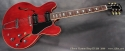 Gibson Custom Shop ES-330 2009 full front view