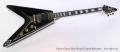 Gibson Custom Shop Flying V Custom Black 2014 Full Front View