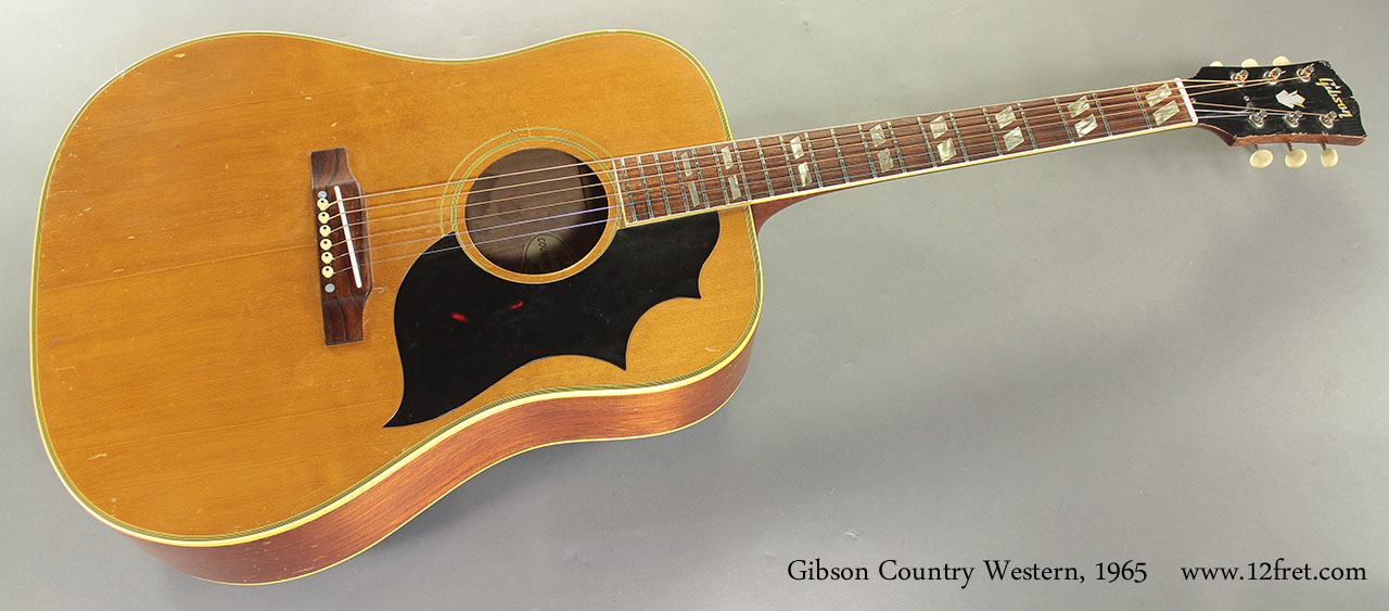 1965 Gibson Country Western SOLD| www.12fret.com