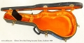 Gibson Dove Steel String Acoustic Guitar, Sunburst 1969 Case Open