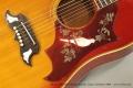 Gibson Dove Steel String Acoustic Guitar, Sunburst 1969 Top Detail