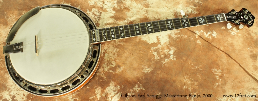 Gibson Earl Scruggs Standard Mastertone Banjo 2000 full front view