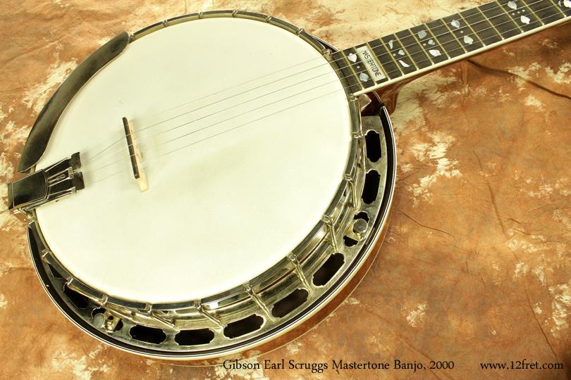 2000 gibson earl scruggs standard mastertone banjo www