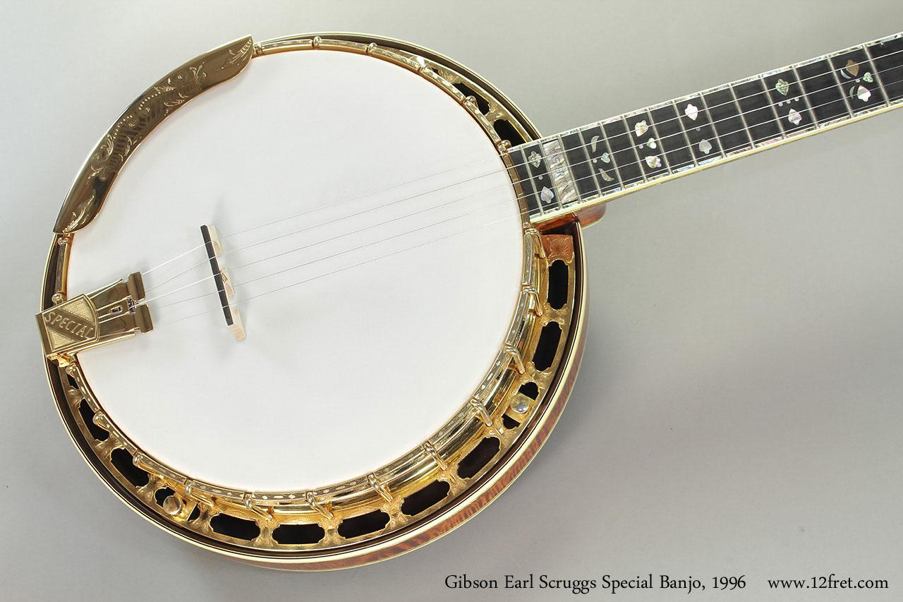1996 Gibson Earl Scruggs Special Banjo Www 12fret Com