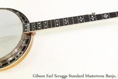Gibson Earl Scruggs Standard Mastertone Banjo, 2001 Full Front View