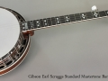 Gibson Earl Scruggs Standard Mastertone Banjo, 2002 Full Front View
