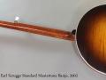 Gibson Earl Scruggs Standard Mastertone Banjo, 2002 Full Rear View