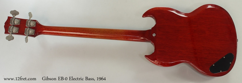 Gibson EB-0 Electric Bass, 1964 Full Rear View