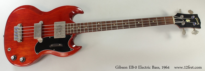 Gibson EB-0 Electric Bass, 1964 Full Front View