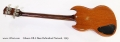 Gibson EB-0 Bass Refinished Natural, 1965 Full Rear View