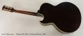 Gibson ES-125C Archtop Electric, 1967 Full Rear View