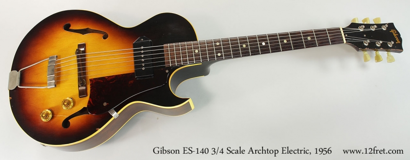 Gibson ES-140 3/4 Scale Archtop Electric, 1956 Full Front View