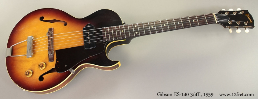 Gibson ES-140 3/4T, 1959 Full Front View