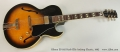 Gibson ES-165 Herb Ellis Archtop Electric, 1992 Full Front View