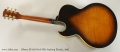 Gibson ES-165 Herb Ellis Archtop Electric, 1992 Full Rear View