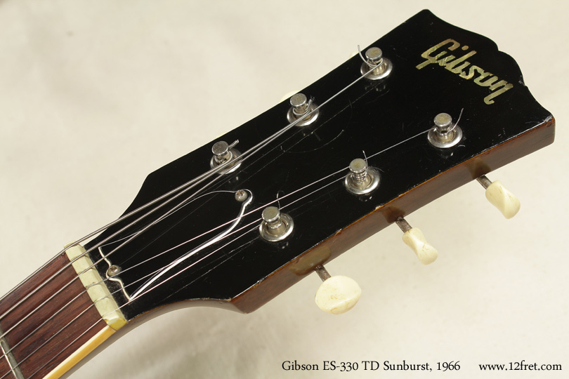 Gibson ES-330TD Sunburst 1966 head front
