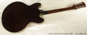 Gibson ES-330TD Sunburst 1966 full rear view