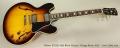 Gibson ES-335 1963 Block Reissue, Vintage Burst, 2013 Full Front View