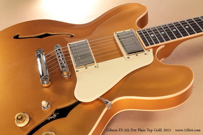 Gibson ES-335 Gold 2013 pickguard