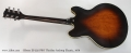 Gibson ES-335 PRO Thinline Archtop Electric, 1979 Full Rear View