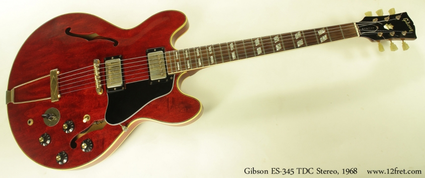 Gibson ES-345 TDC Stereo 1968 full front view