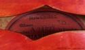 Gibson ES-355 1960 label