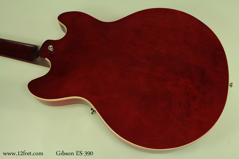 Gibson-ES-390-red-back-1