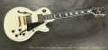 Gibson ES-Les Paul Alex Lifeson Signature Artist Proof #2 White, 2017 Full Front View