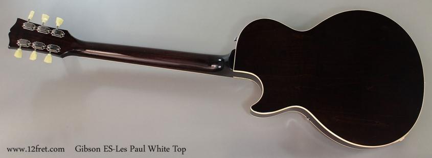 Gibson ES-Les Paul White Top Full Rear View