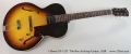 Gibson ES-125T Thinline Archtop Guitar, 1958 Full Front View