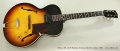 Gibson ES-125T Thinline Archtop Electric Guitar, 1959 Full Front View